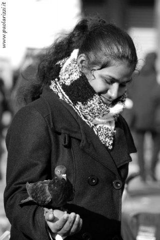 Una bella ragazza indiana
