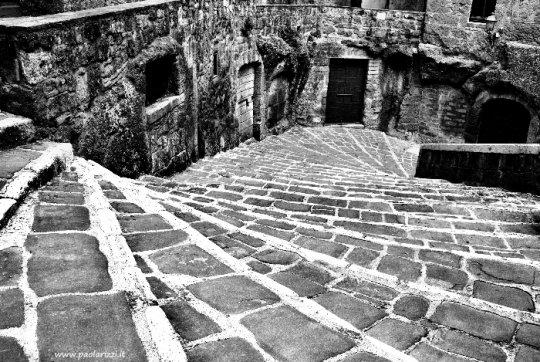 Strada di Pitigliano (Grosseto)